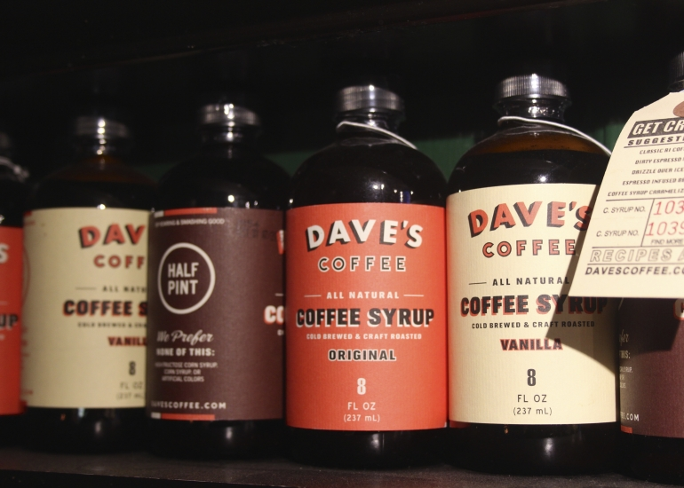 Dave's Coffee Syrup